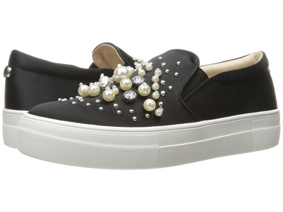Steve Madden - Glamour (Black Satin) Women's Shoes