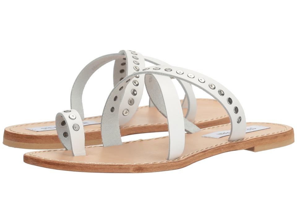 Steve Madden - Becky (White Leather) Women's Shoes