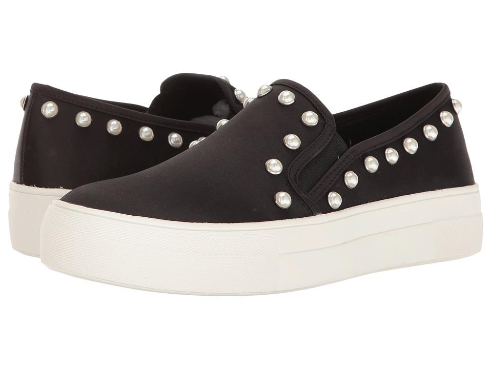 Steve Madden - Glacier (Black Satin) Women's Shoes