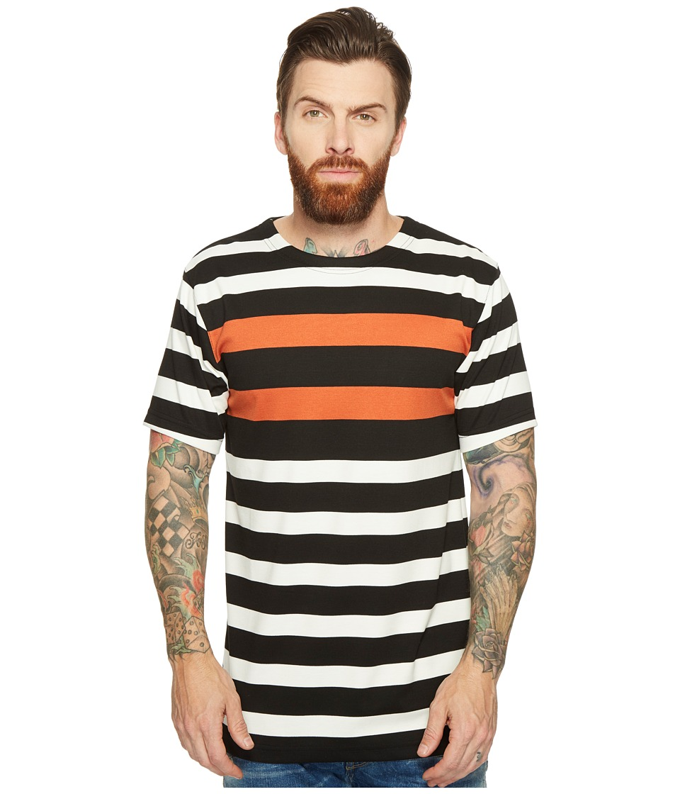 Publish - Vance - Striped Knit (Orange) Men's Clothing