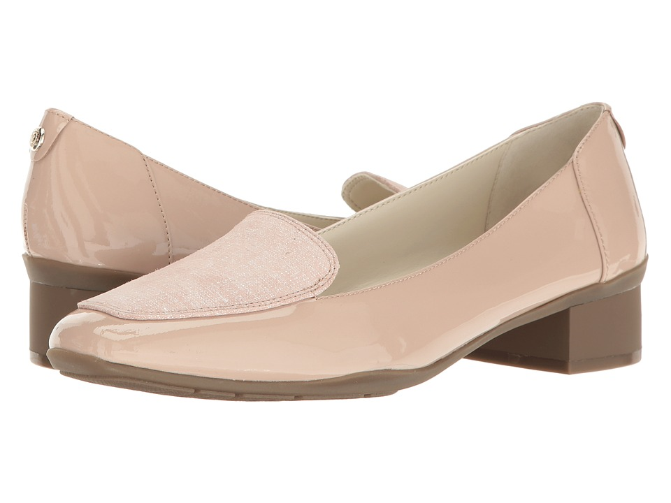 Anne Klein Daneen (Natural/Light Pink Patent) Women
