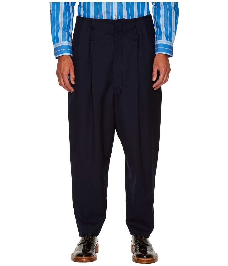Vivienne Westwood - Zoot Trousers (Navy) Men's Casual Pants