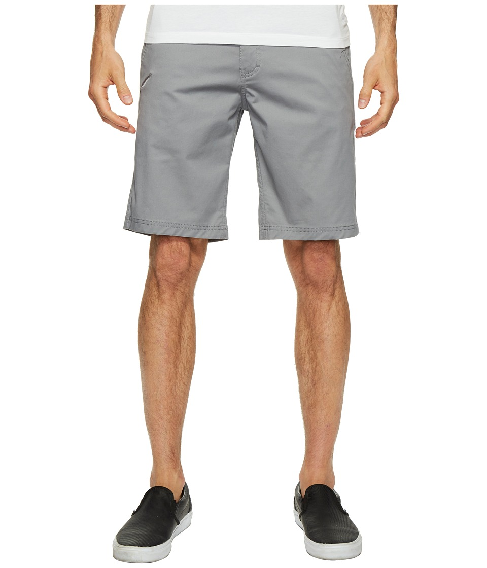 Publish - Kamron - Twill Shorts (Grey) Men's Shorts