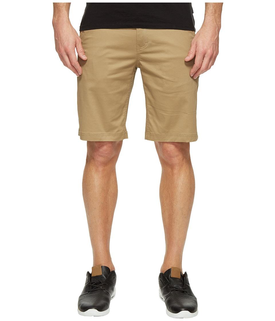 Publish - Kamron - Twill Shorts (Khaki) Men's Shorts