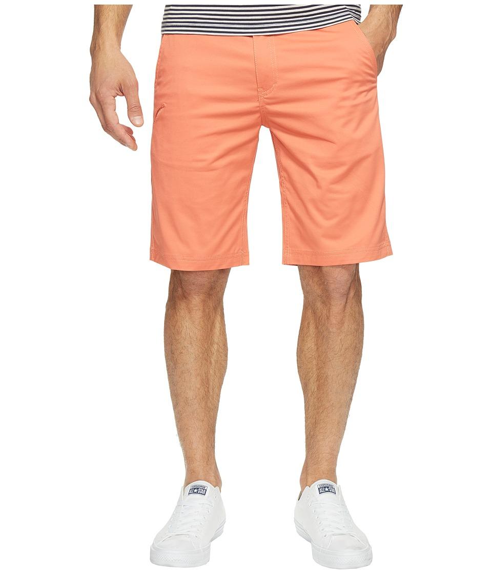 Publish - Kamron - Twill Shorts (Salmon) Men's Shorts