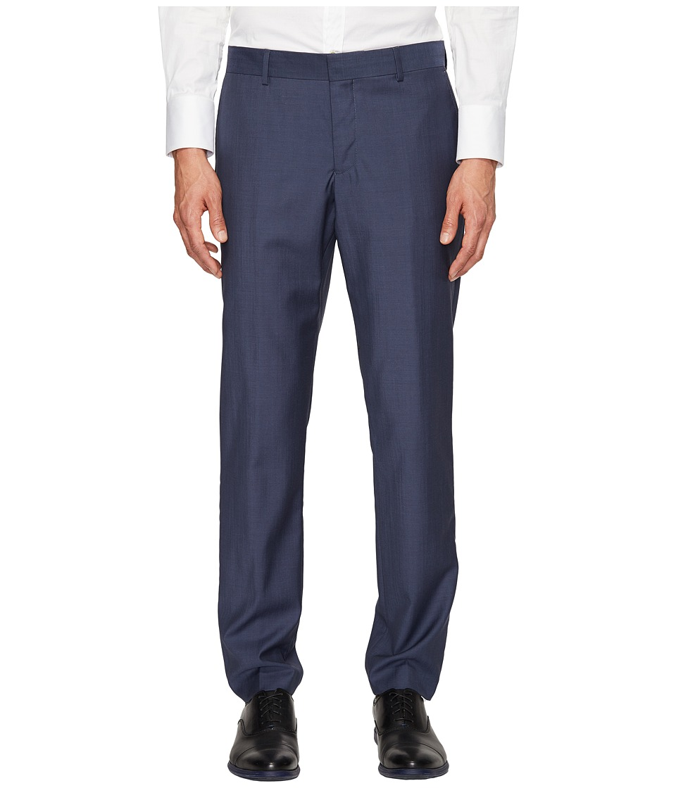 The Kooples - Suit Pants End-On-End (Blue) Men's Casual Pants