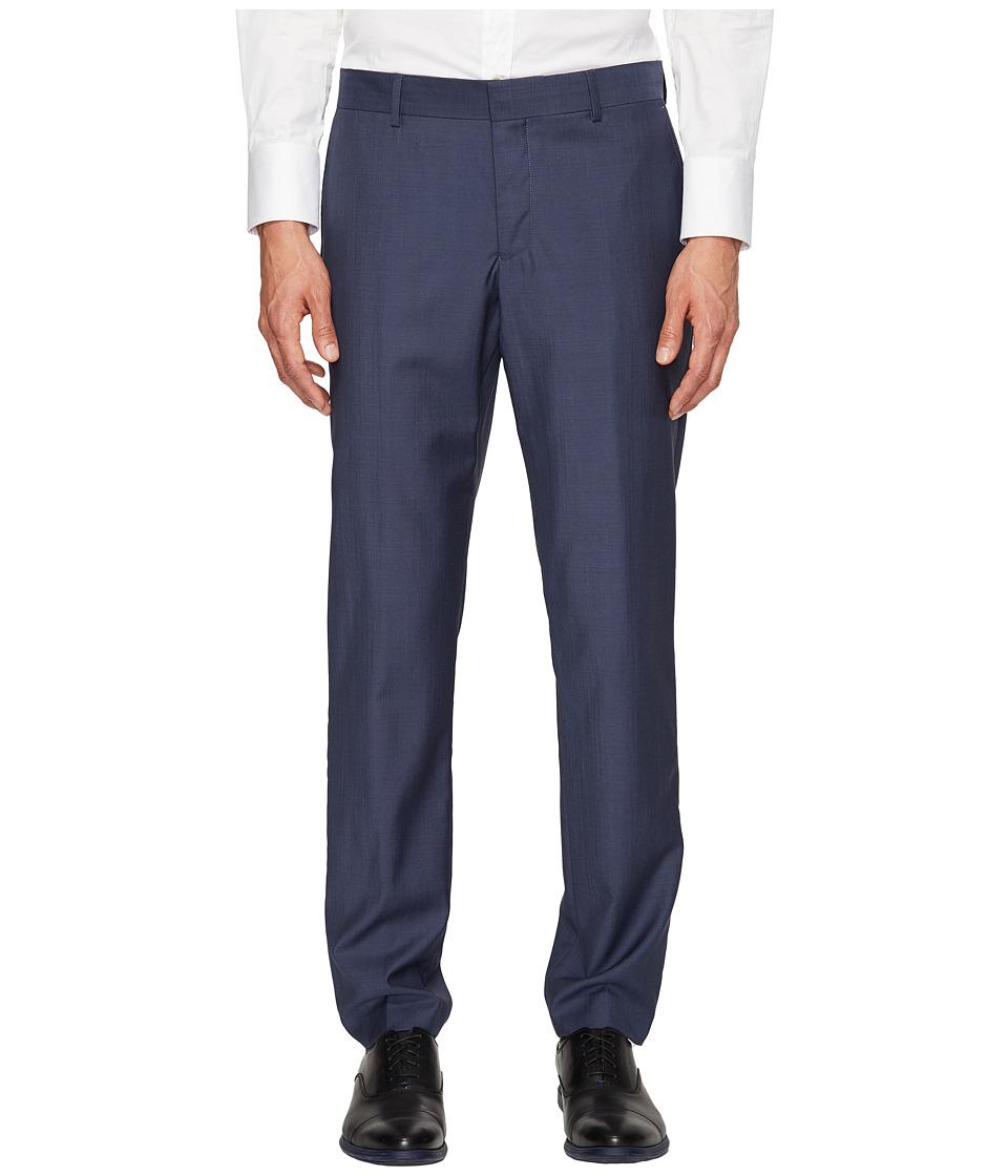 The Kooples - Suit Pants End-On-End (Blue) Men's Casual Pants