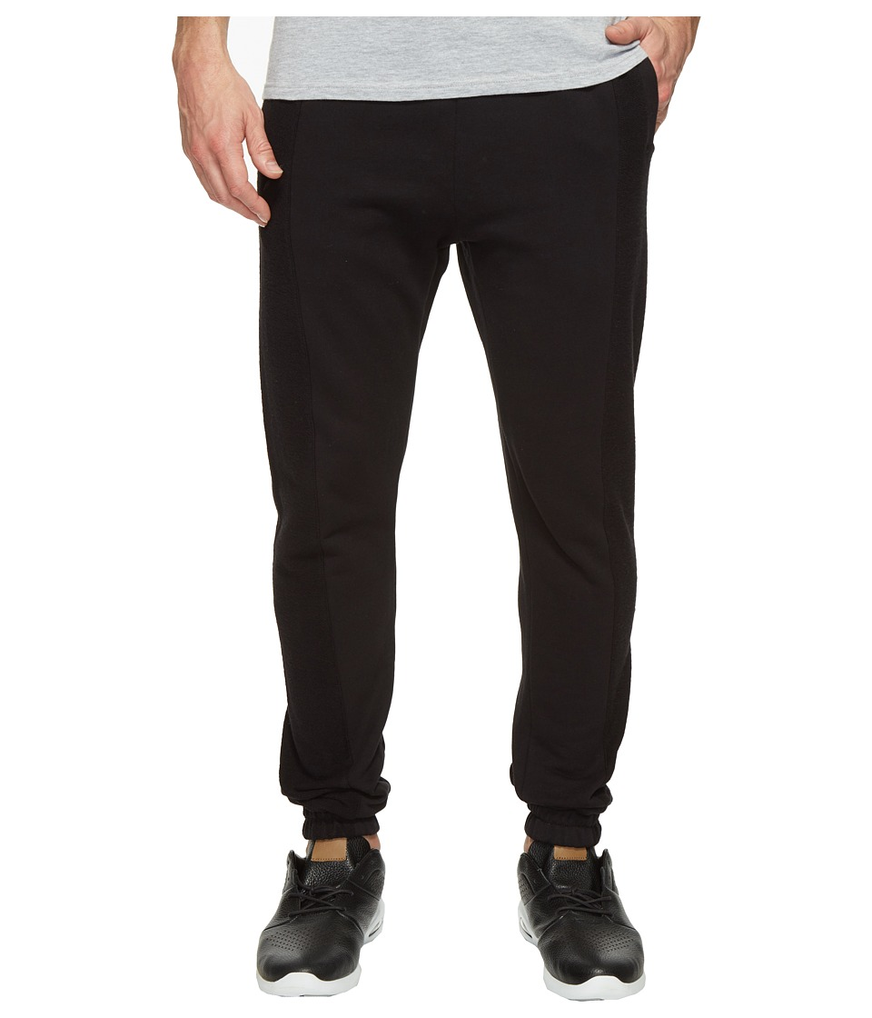 Publish Jansen - Fleece Jogger (Black) Men's Casual Pants