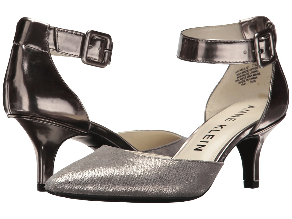Anne Klein Fabulist (Dark Pewter/Pewter Synthetic) High Heels