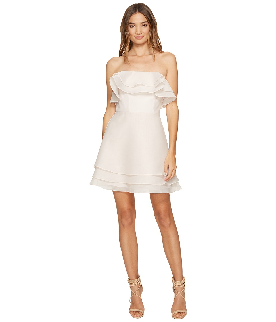 KEEPSAKE THE LABEL - Float Mini Dress (Oyster) Women's Dress