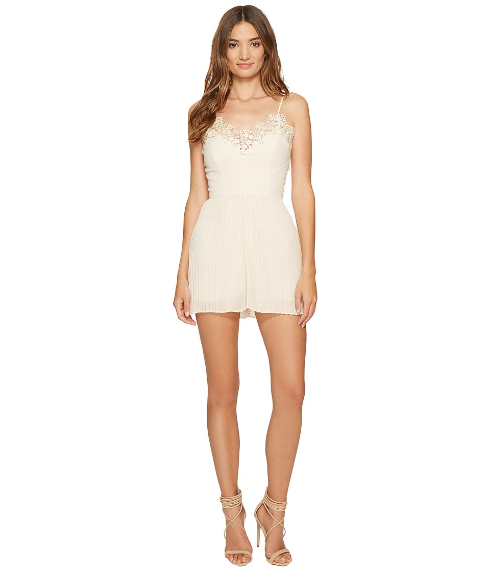KEEPSAKE THE LABEL - All Time High Playsuit (Nude) Women's Jumpsuit & Rompers One Piece