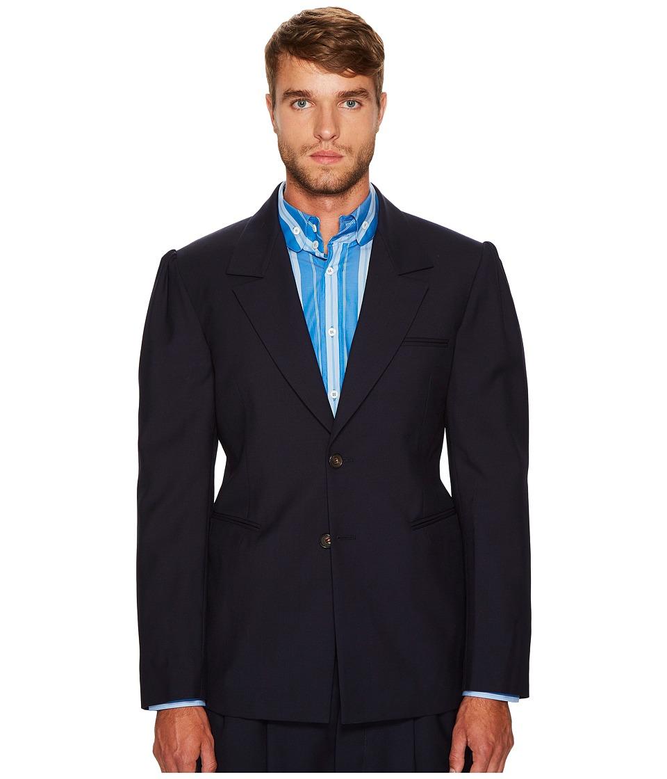 Vivienne Westwood - Barrel Jacket (Navy) Men's Coat