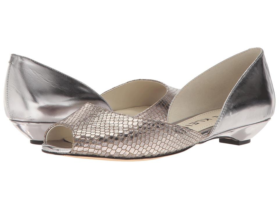 Anne Klein Fanetta (Dark Silver/Pewter Leather) Women