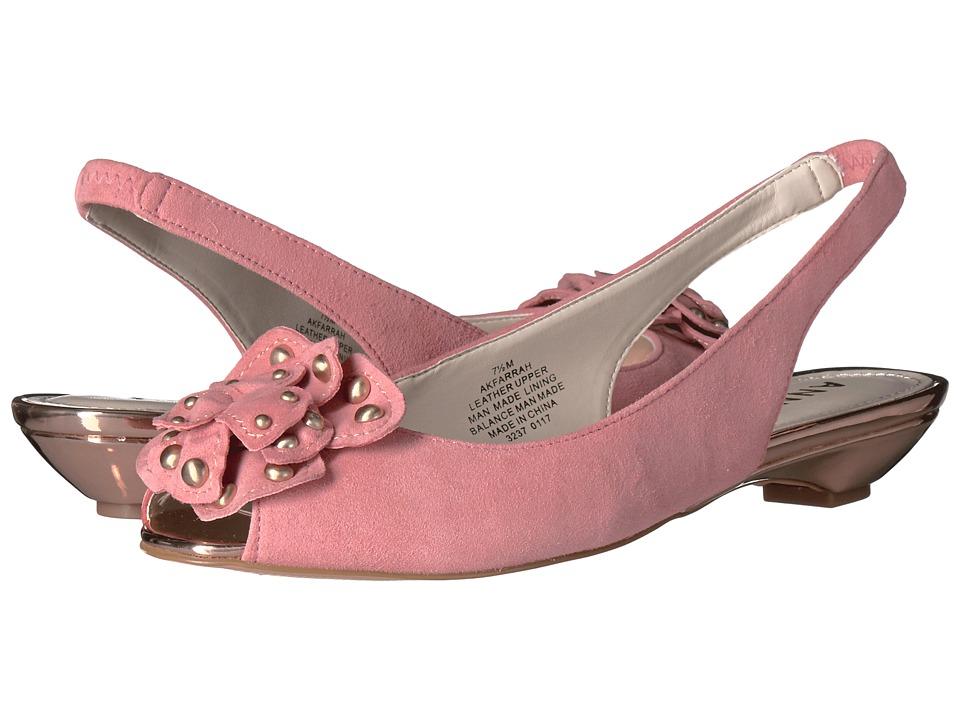 Anne Klein - Farrah (Medium Pink Suede) Women's Shoes