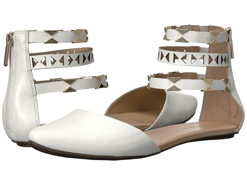 Massimo Matteo - Ankle Strap Sandal (White) Women's Sandals