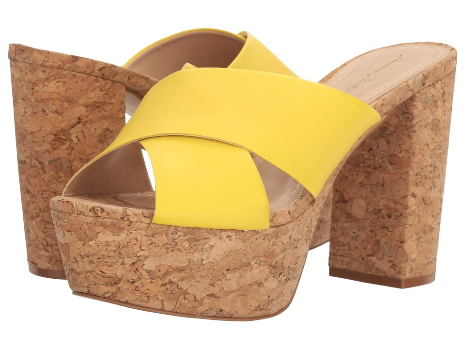 Massimo Matteo - Cork Platform Sandal (Sunshine) Women's Sandals