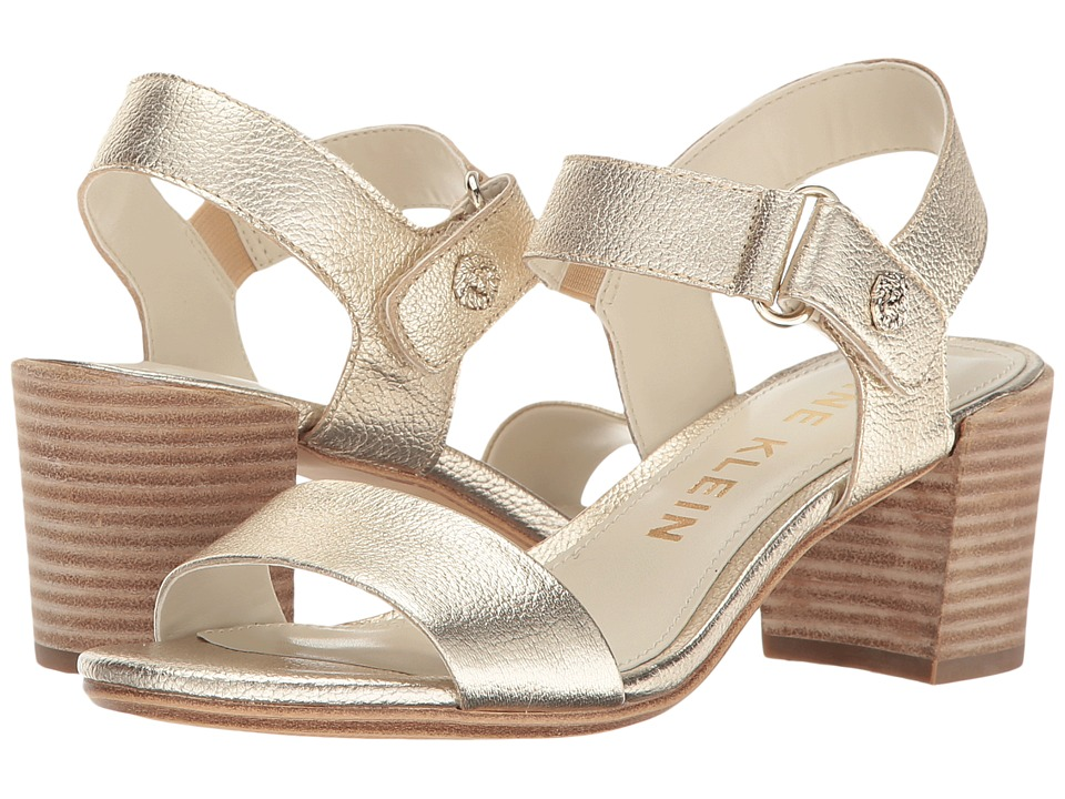 Anne Klein Jackie (Light Gold Leather) Women