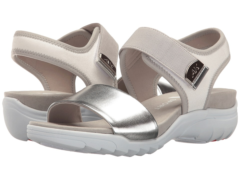 Anne Klein Grassland (Silver Multi Fabric) Women