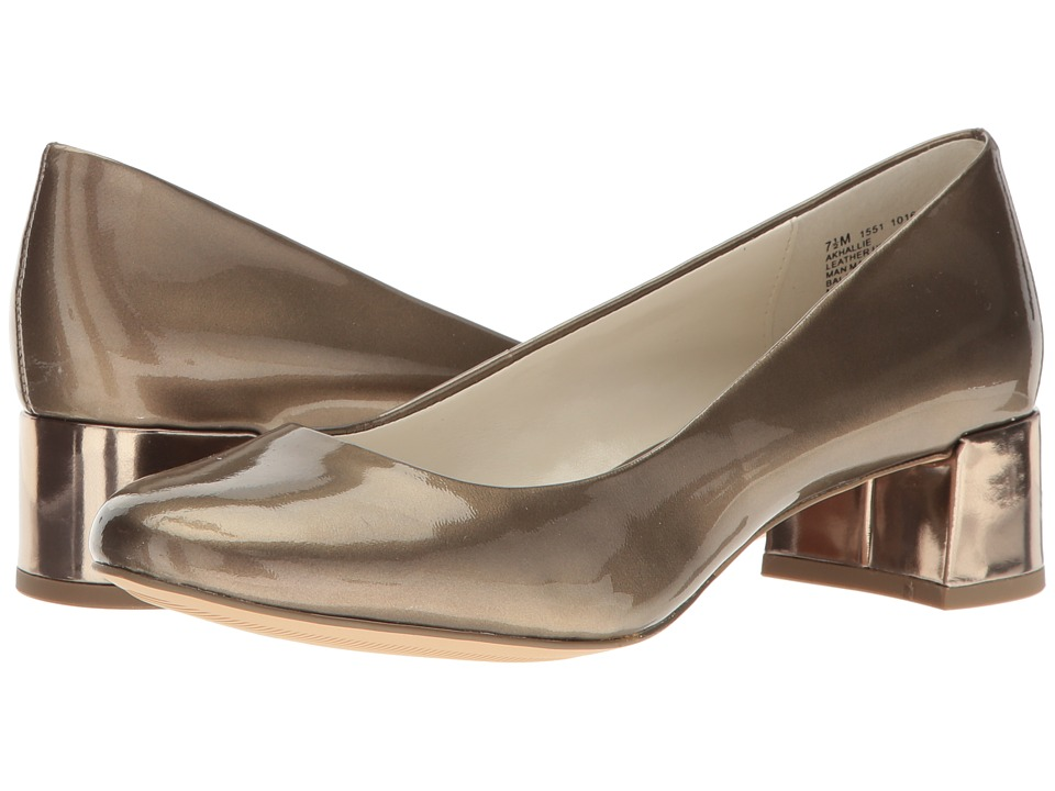 Anne Klein Hallie (Metallic Taupe Patent) Women