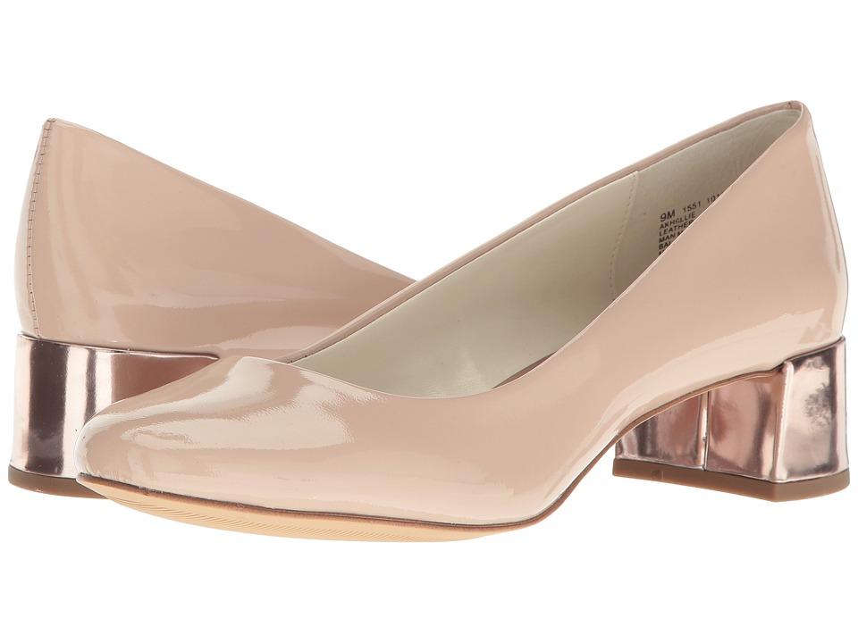 Anne Klein - Hallie (Natural Patent) Women's Shoes