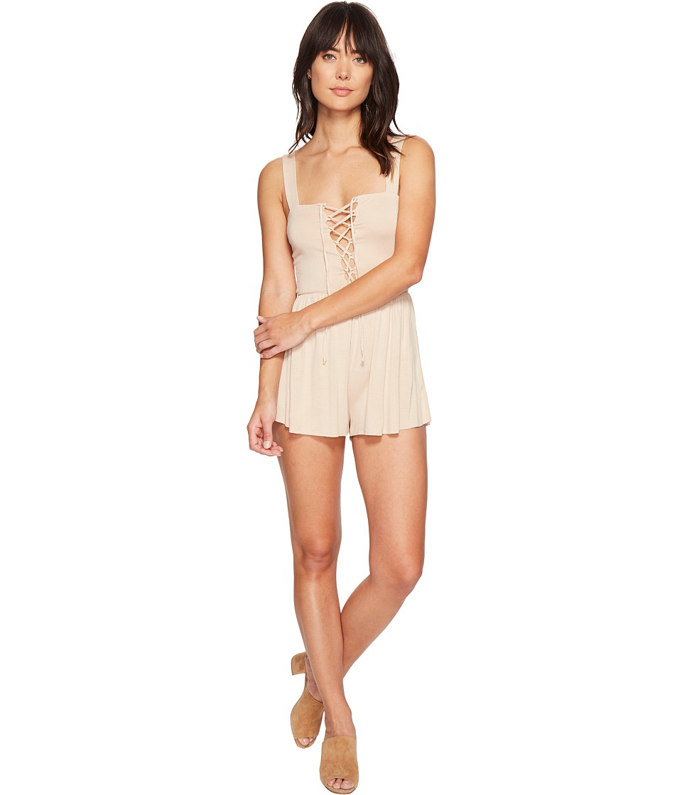 Clayton - Kizzy Playsuit (Bare) Women's Jumpsuit & Rompers One Piece