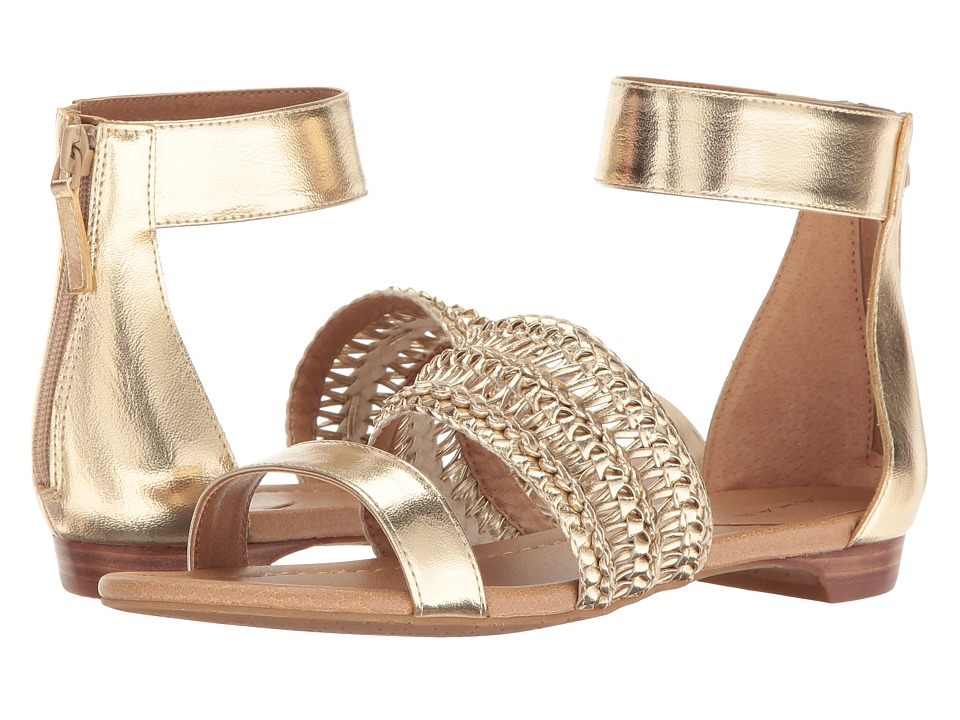 Tahari - Dorm (Platino Metal PU) Women's Sandals