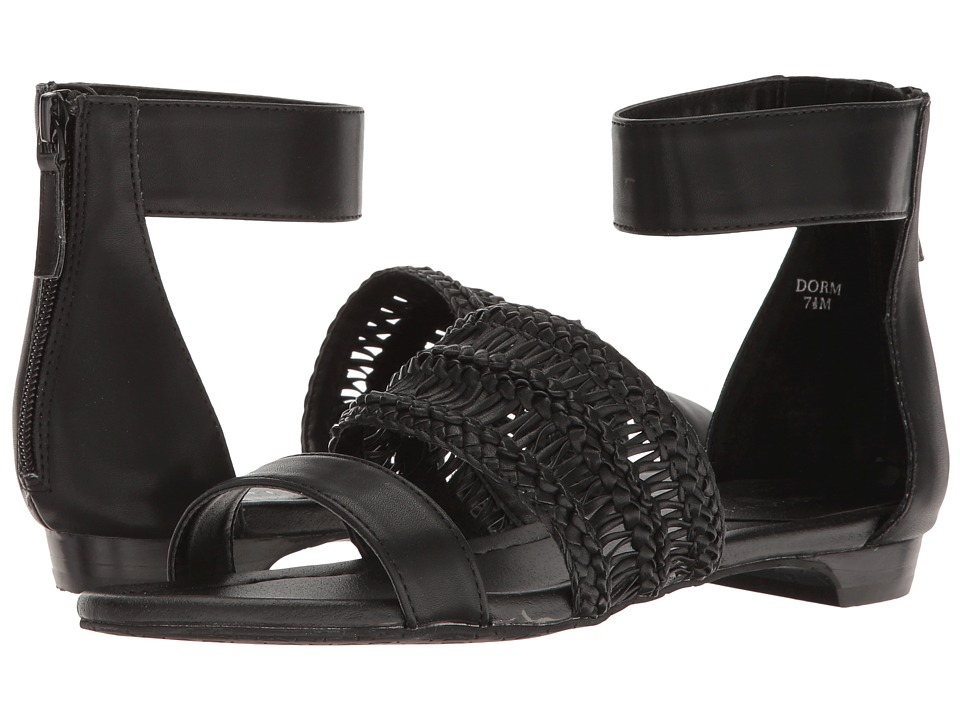 Tahari - Dorm (Black Soft Nappa PU) Women's Sandals