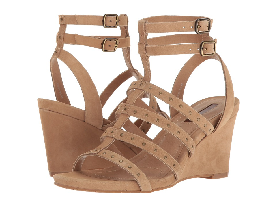 Tahari - Fitzy (Fawn Suede) Women's Wedge Shoes