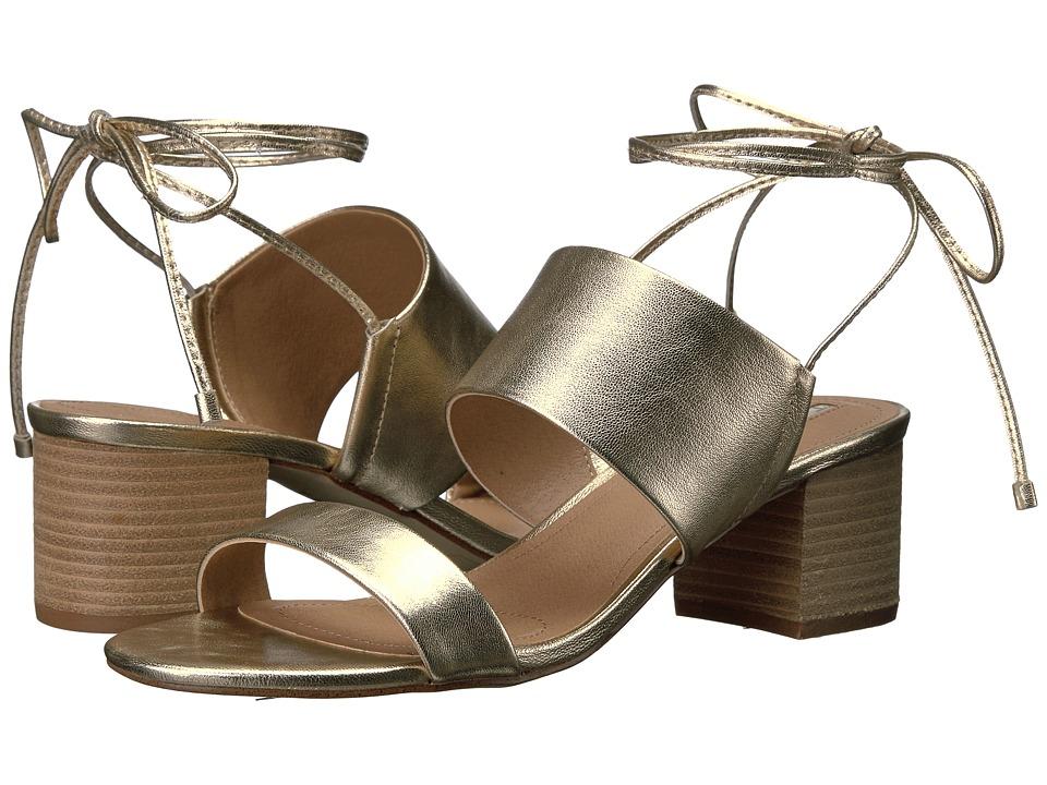 Tahari - Doe (Platino Jersey Metal) Women's 1-2 inch heel Shoes