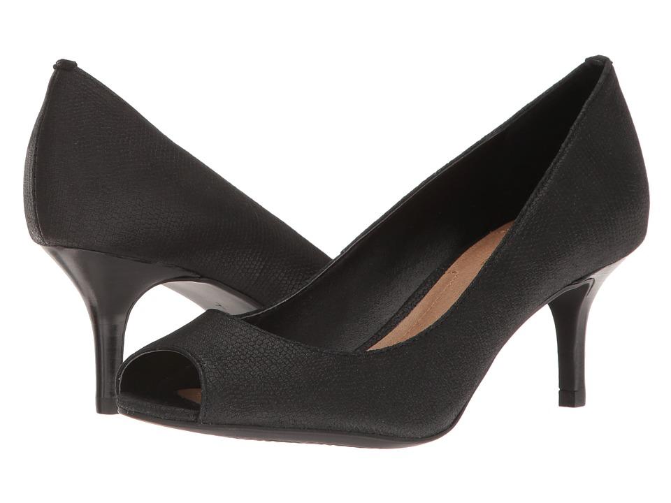 Tahari - Janna (Black Gecko Print) High Heels