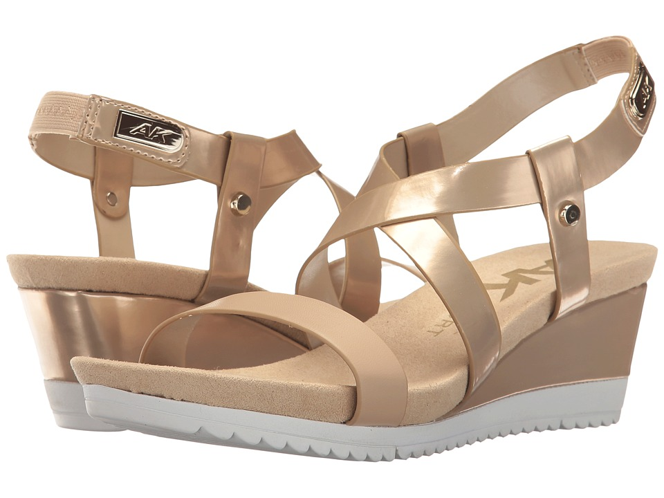 Anne Klein - Shanni (Light Gold/Light Natural Synthetic) Women's Shoes