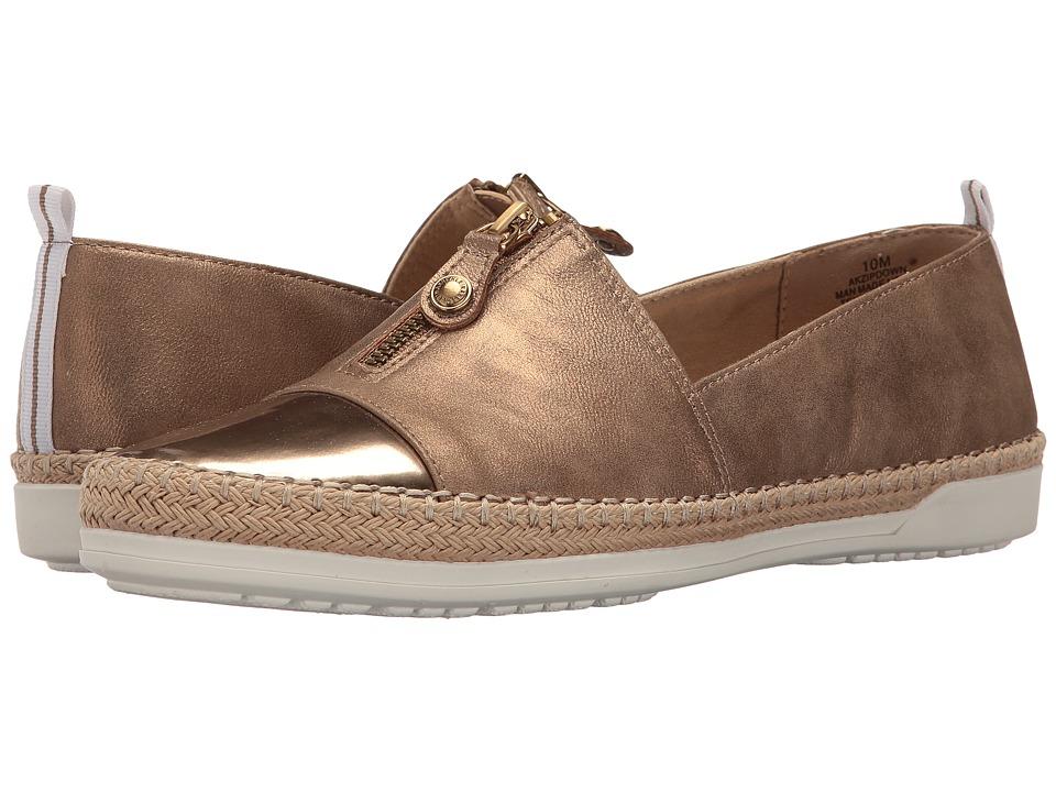 Anne Klein - Zipdown (Light Bronze Multi Synthetic) Women's Shoes