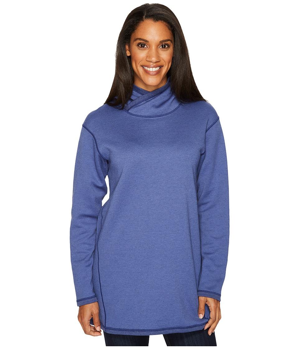 ExOfficio Robson Reversible Hoodie (Blueprint) Women