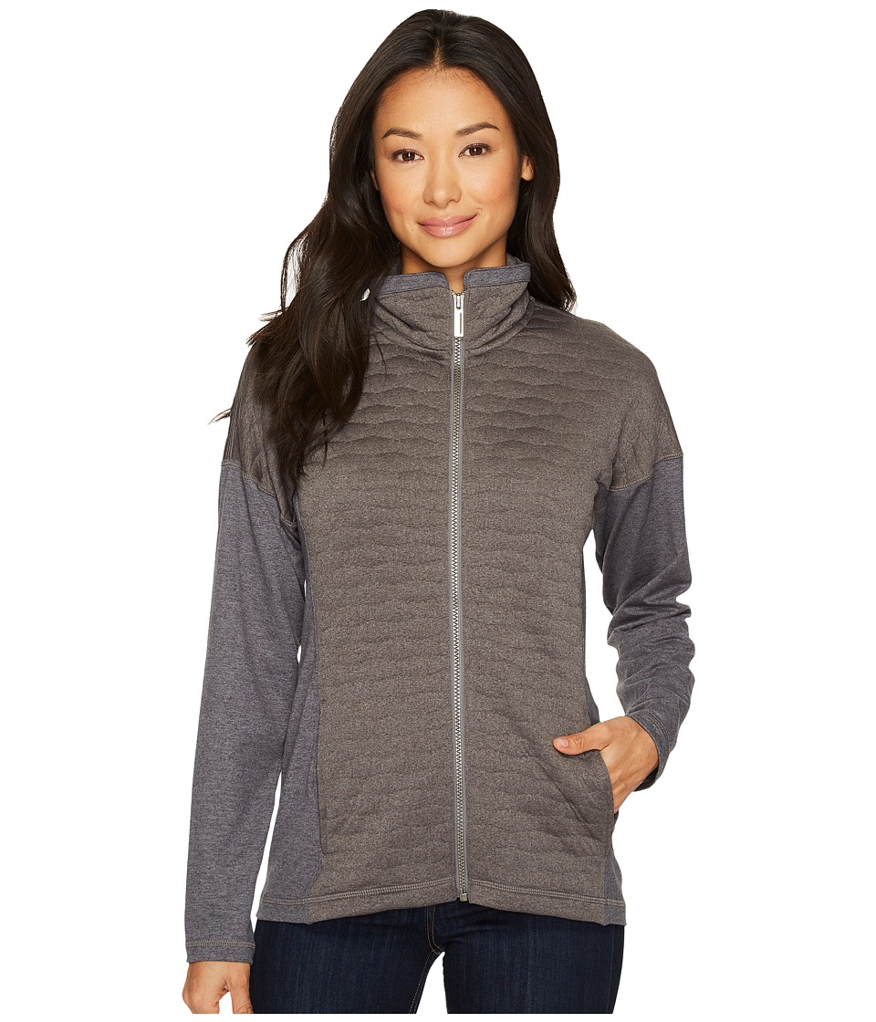 ExOfficio Kelowna Full Zip Jacket (Grey Heather) Women