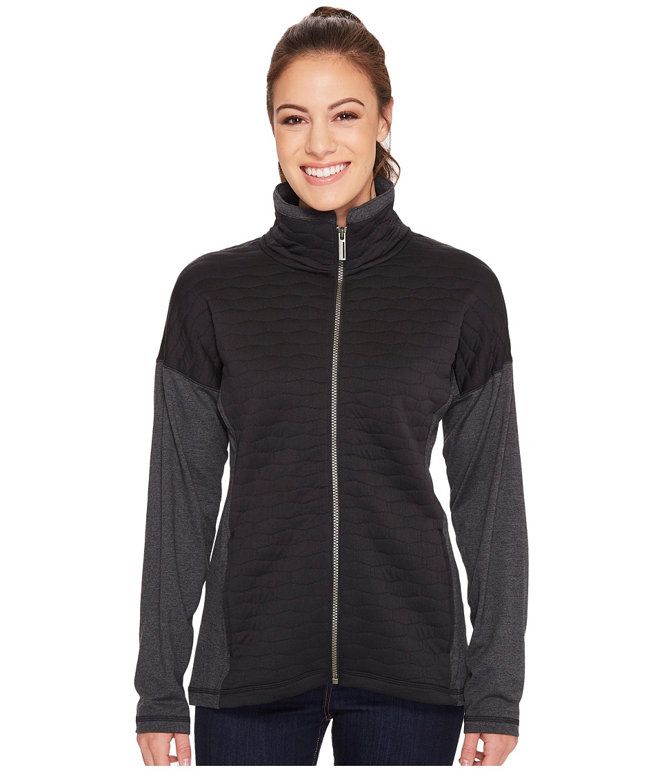 ExOfficio Kelowna Full Zip Jacket (Black) Women