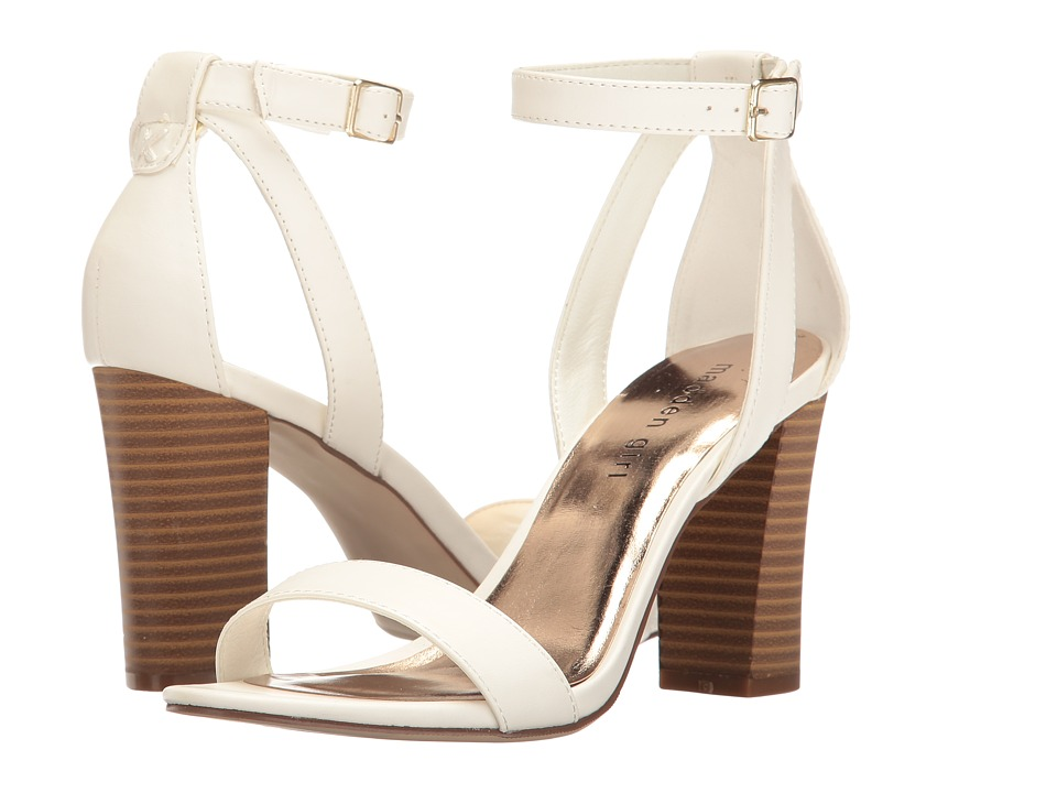 Madden Girl - Binky (White Paris) High Heels