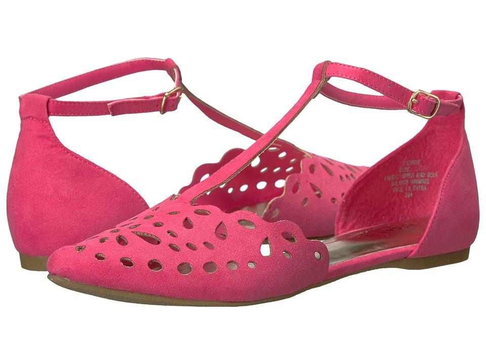 Madden Girl - Edrie (Fuchsia Fabric) Women's Shoes