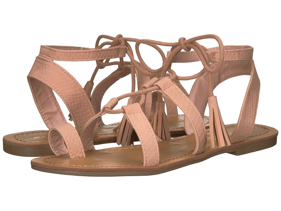 Madden Girl Sundwn (Blush) Women