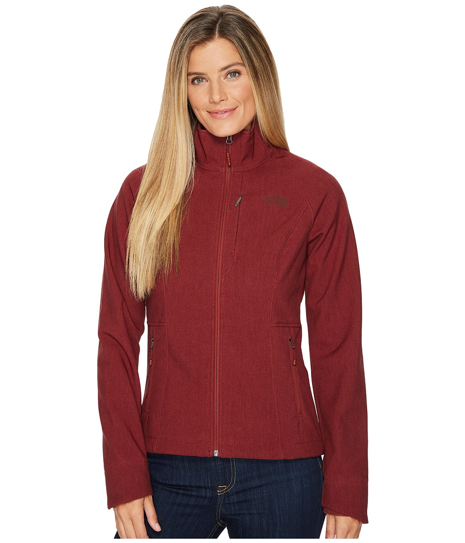 The North Face Apex Bionic Jacket (Barolo Red Heather) Women