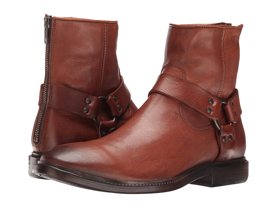 Frye - Patrick Harness (Copper) Men's Boots