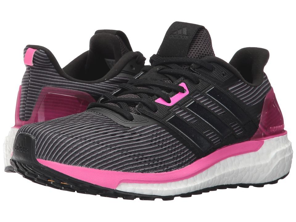 adidas Supernova (Utility Black/Core Black/Shock Pink) Women
