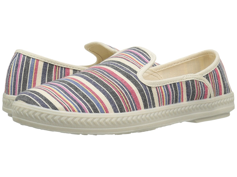 Rocket Dog - Drive (Natural Multi Roads) Women's Slip on Shoes
