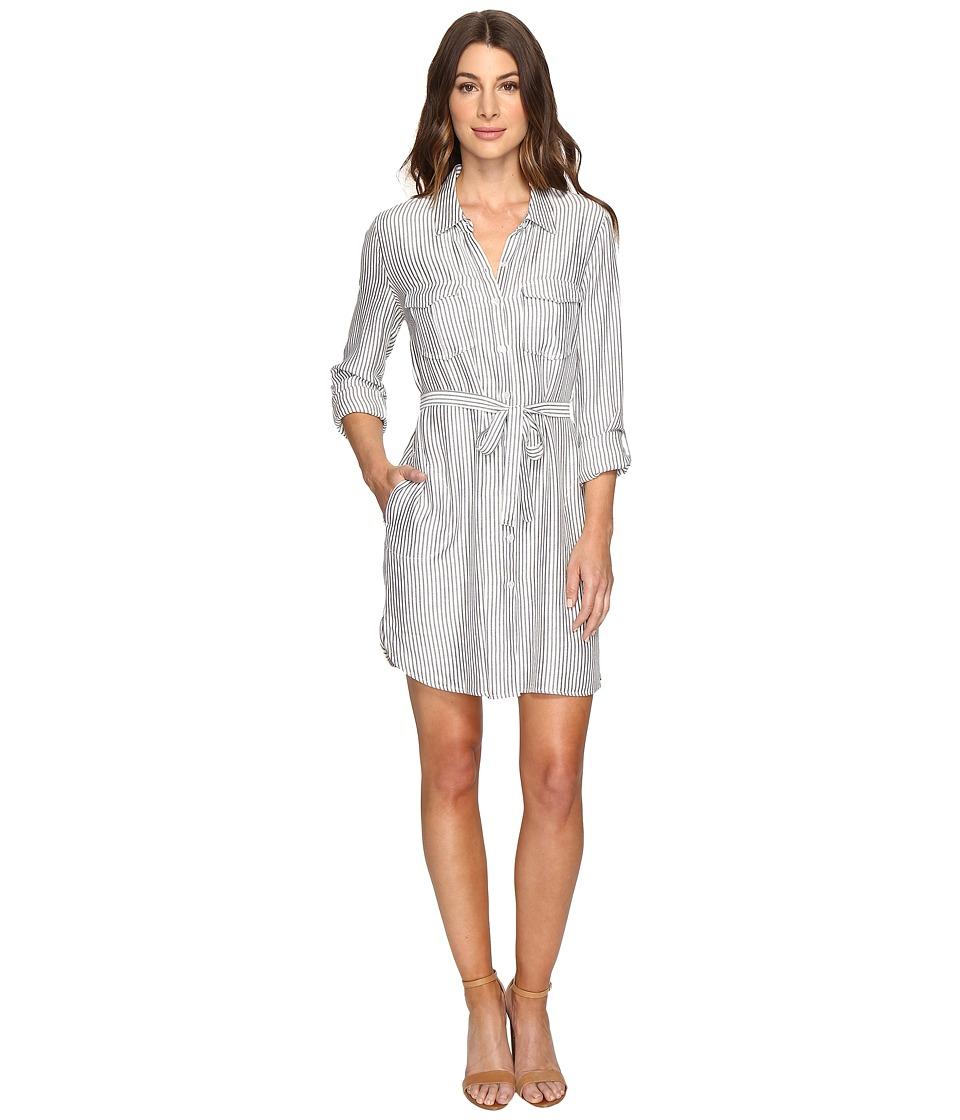 Joie - Wila B 5347-31725B (Porcelain/Caviar) Women's Dress