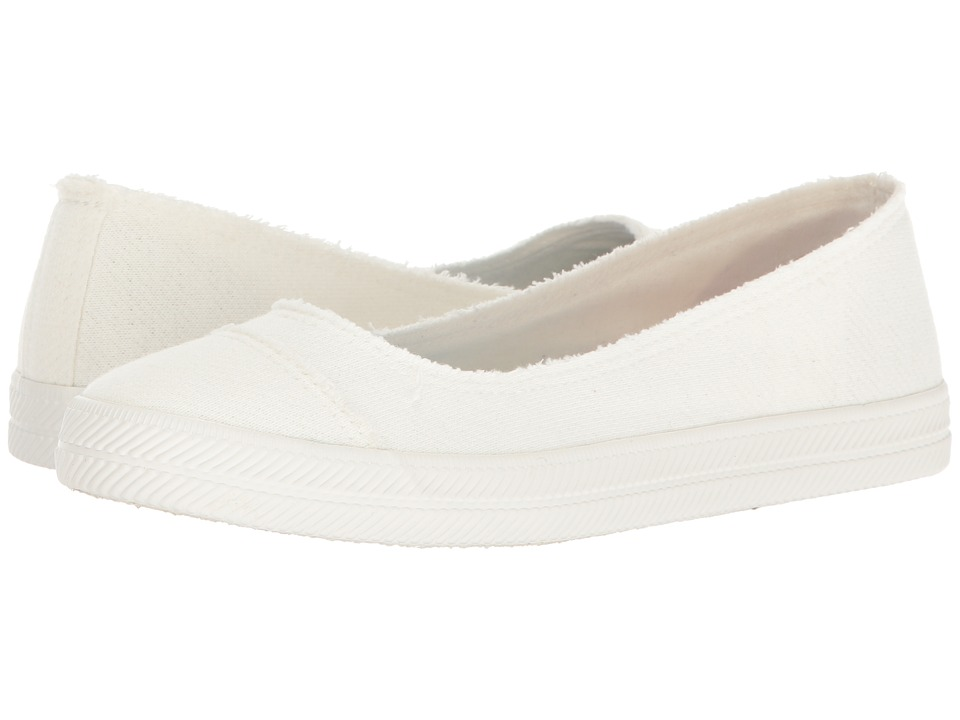 Rocket Dog - Skim (White Skirball) Women's Flat Shoes
