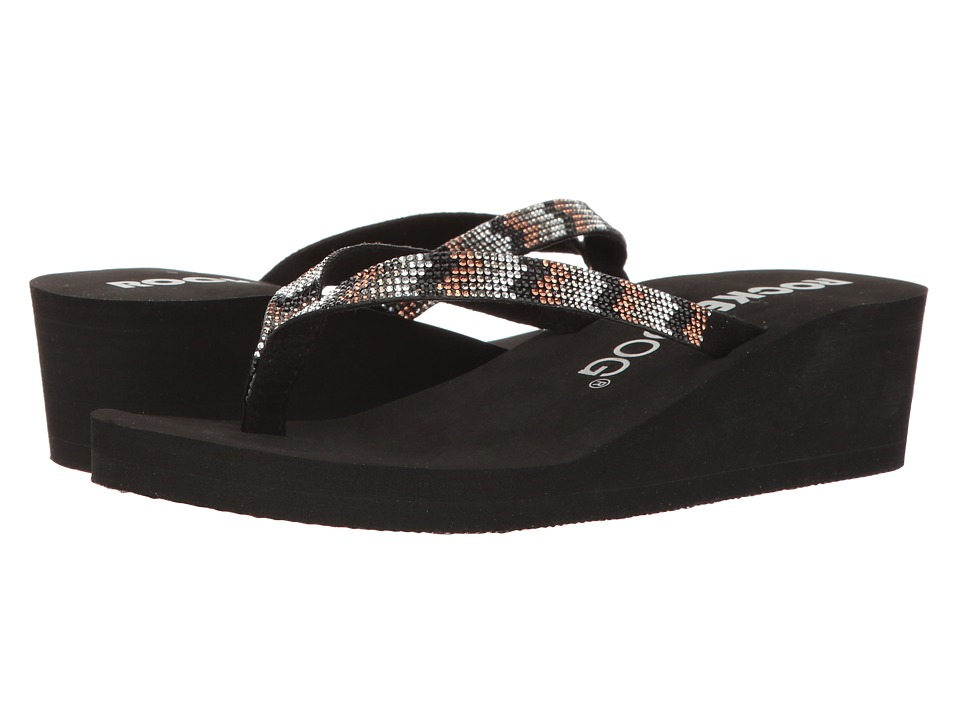 Rocket Dog - Alesso (Black Chevron Pop) Women's Sandals