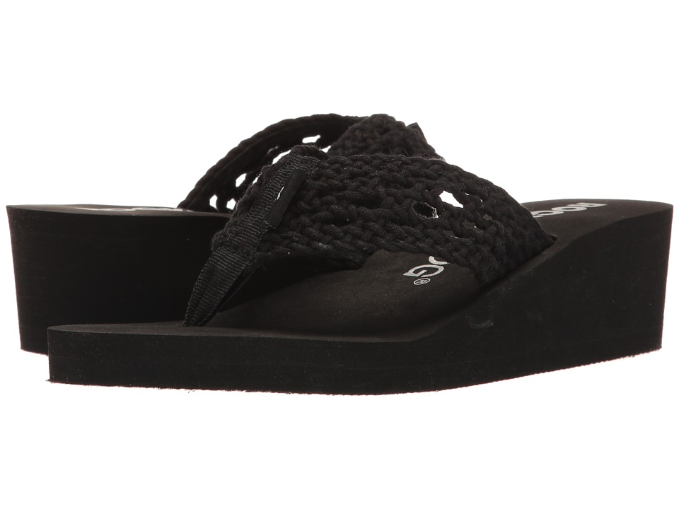 Rocket Dog - Aviara (Black Stapleton) Women's Sandals