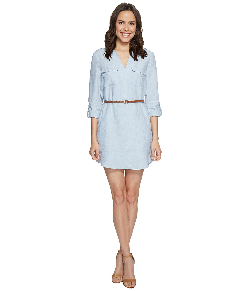 Joie Rathana C 1065-30666C Light Washed Chambray Dress