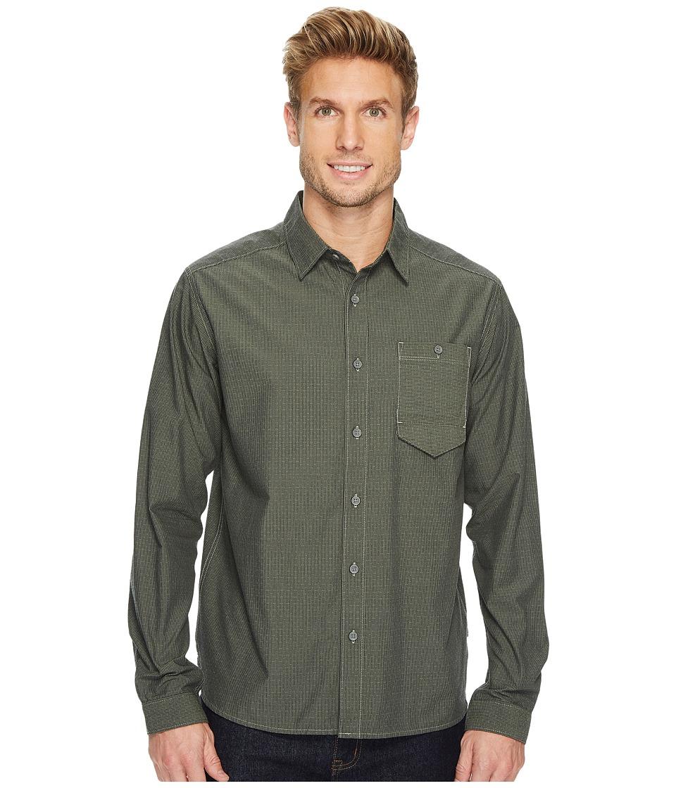 Mountain Hardwear Foreman Long Sleeve Shirt (Green Fade) Men