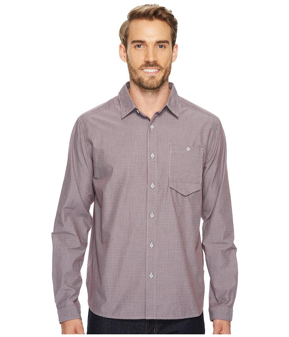 Mountain Hardwear Foreman Long Sleeve Shirt (Cote du Rhone) Men