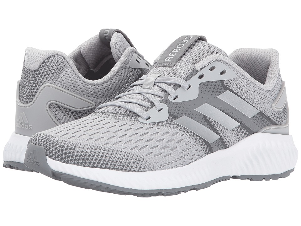 adidas Running Aerobounce (Grey Two/Silver Metallic/Grey Three) Women